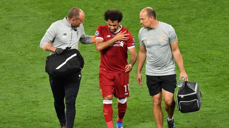 Salah s'exprime sur sa blessure