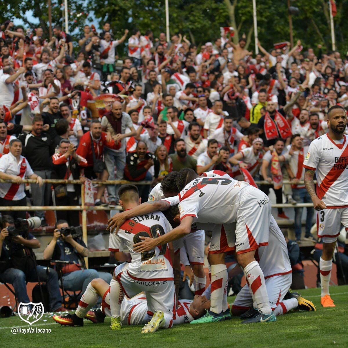 Le Rayo Vallecano de retour en Liga