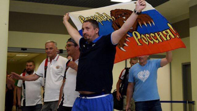 Le chef du groupe de supporters russes interdit de stade