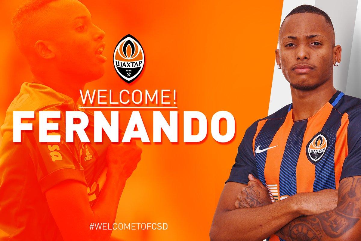 Fernando (Palmeiras) signe au Shakhtar Donetsk