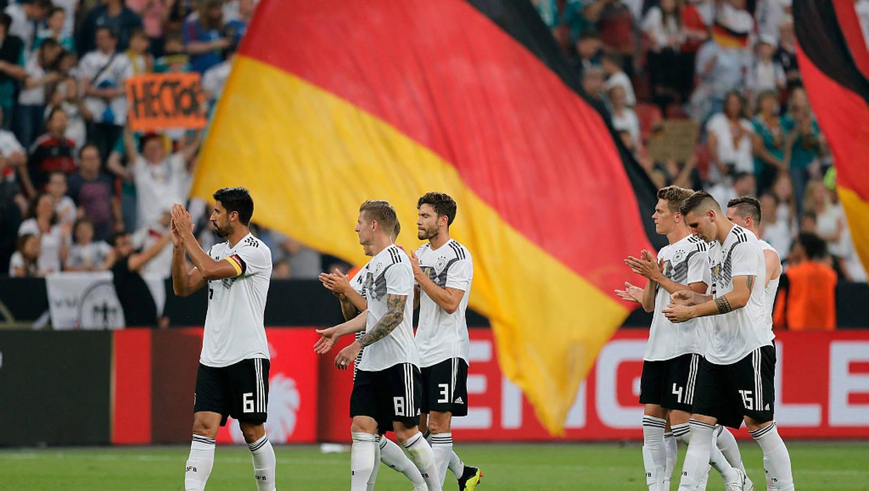 La compo de l'Allemagne face au Mexique !
