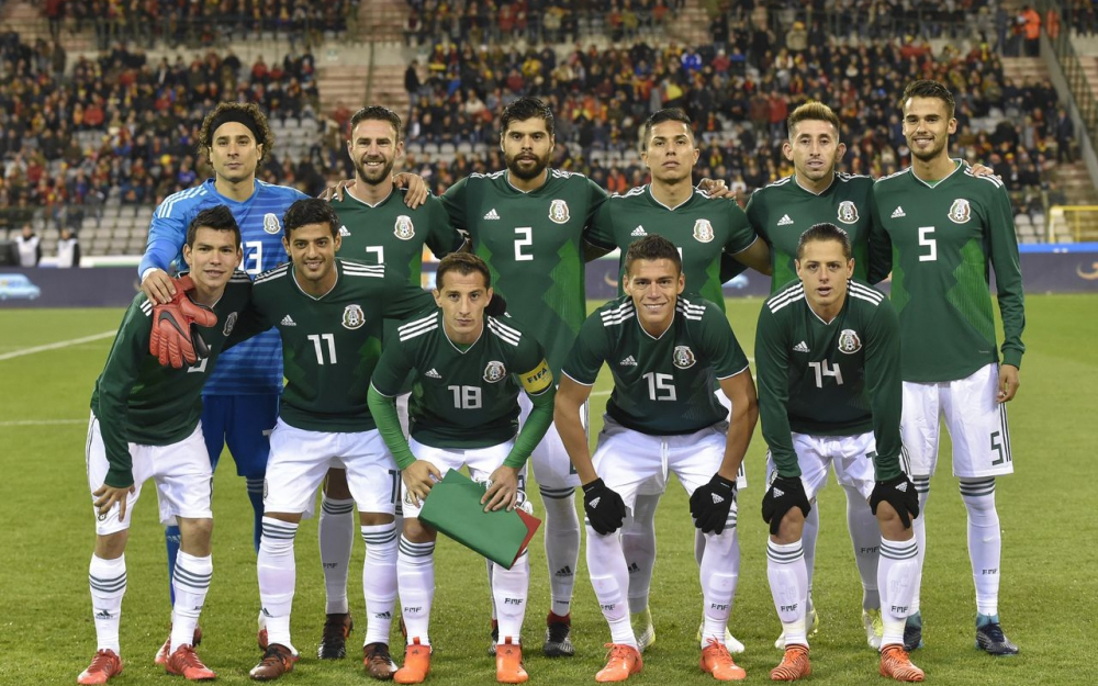 La composition du Mexique pour affronter l'Allemagne !