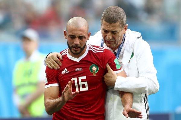 Nordin Amrabat ne jouera pas contre le Portugal