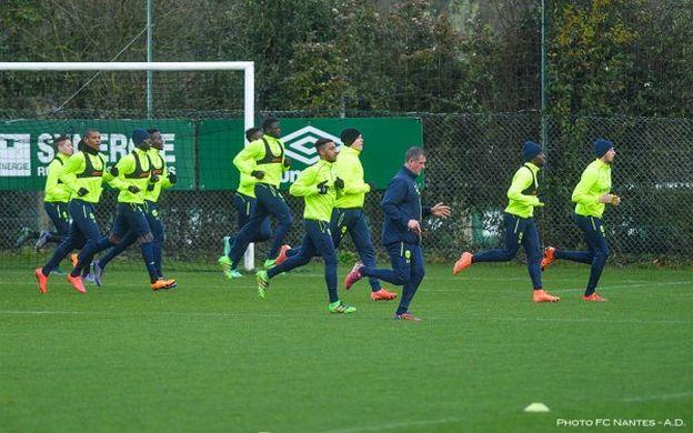 Le FC Nantes retrouvera les terrains lundi prochain !