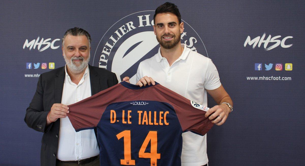Damien Le Tallec s'engage avec le Montpellier HSC (off.)
