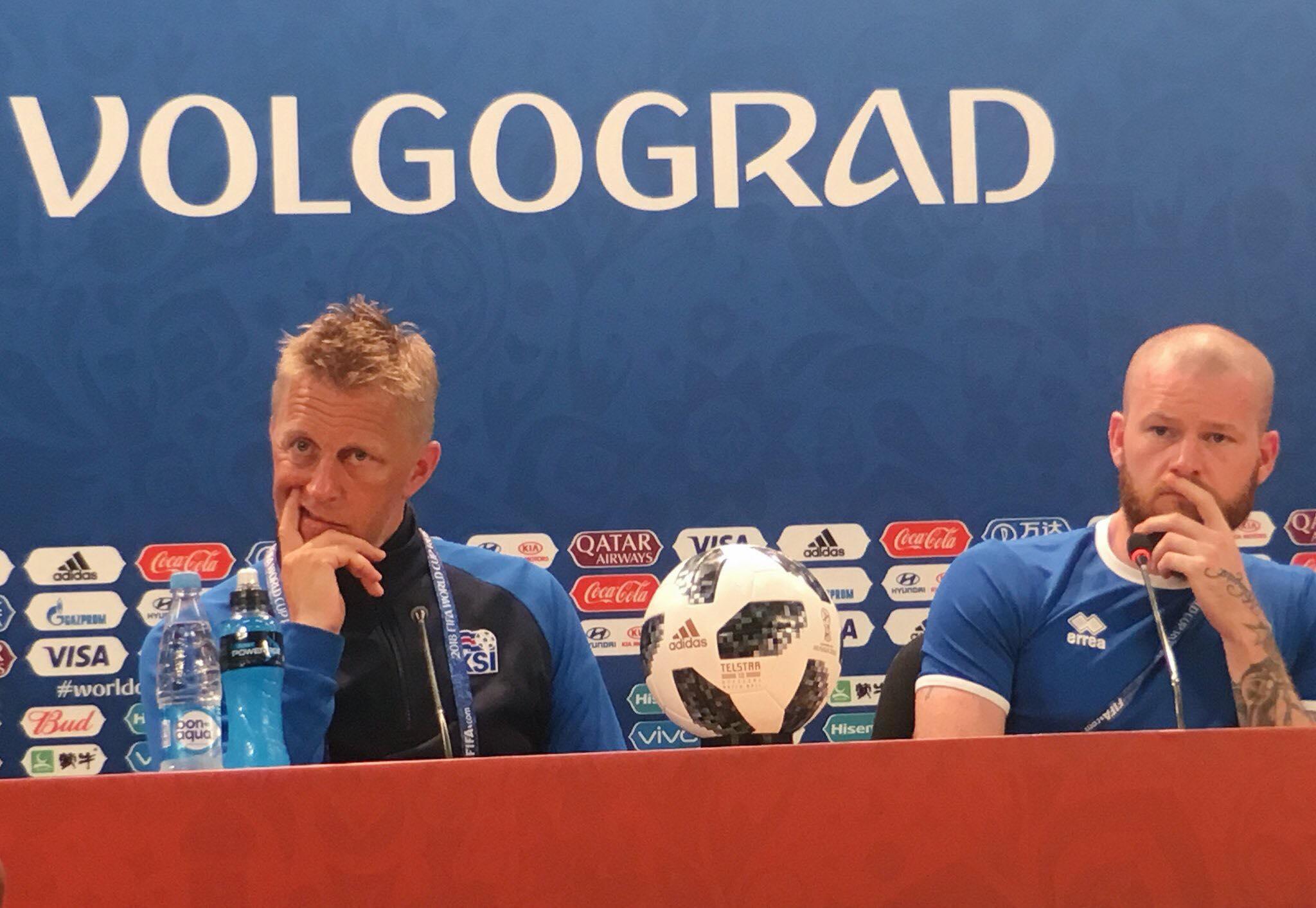 """Heimir Hallgrimsson : """"Je concède qu'on a souvent fait de meilleurs matches"""""""