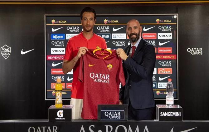 La Roma recrute Antonio Mirante
