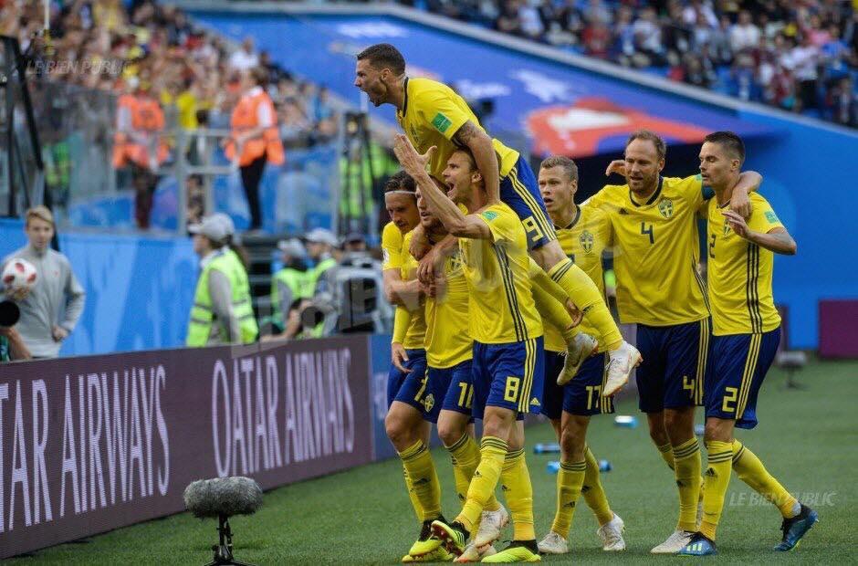 La Suède de retour en quart 24 ans après !