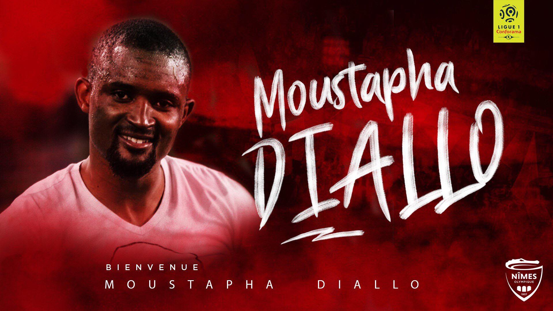 Moustapha Diallo rejoint le Nîmes Olympique ! (off.)