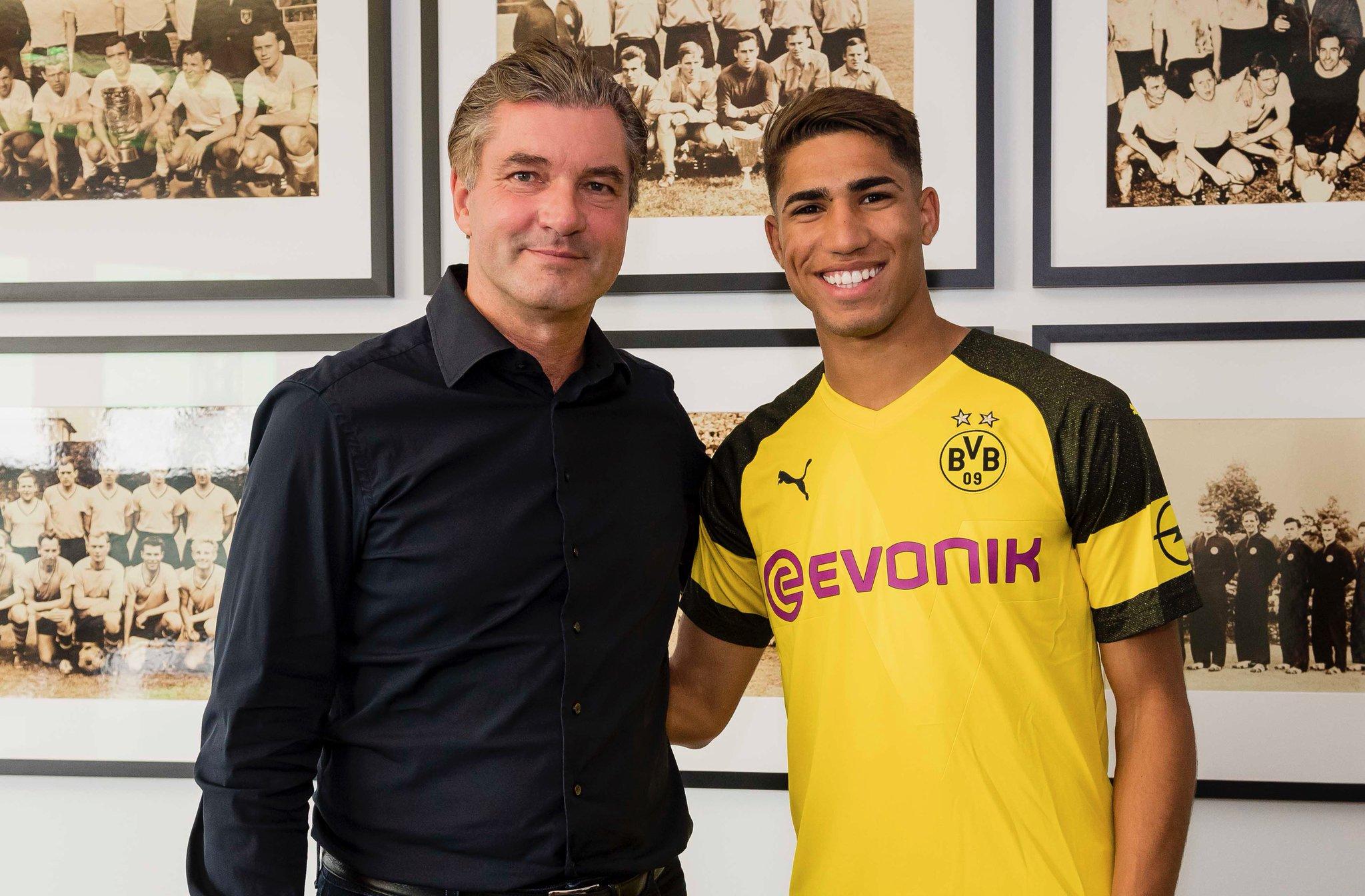 Le Borussia Dortmund accueille Achraf Hakimi (off.)