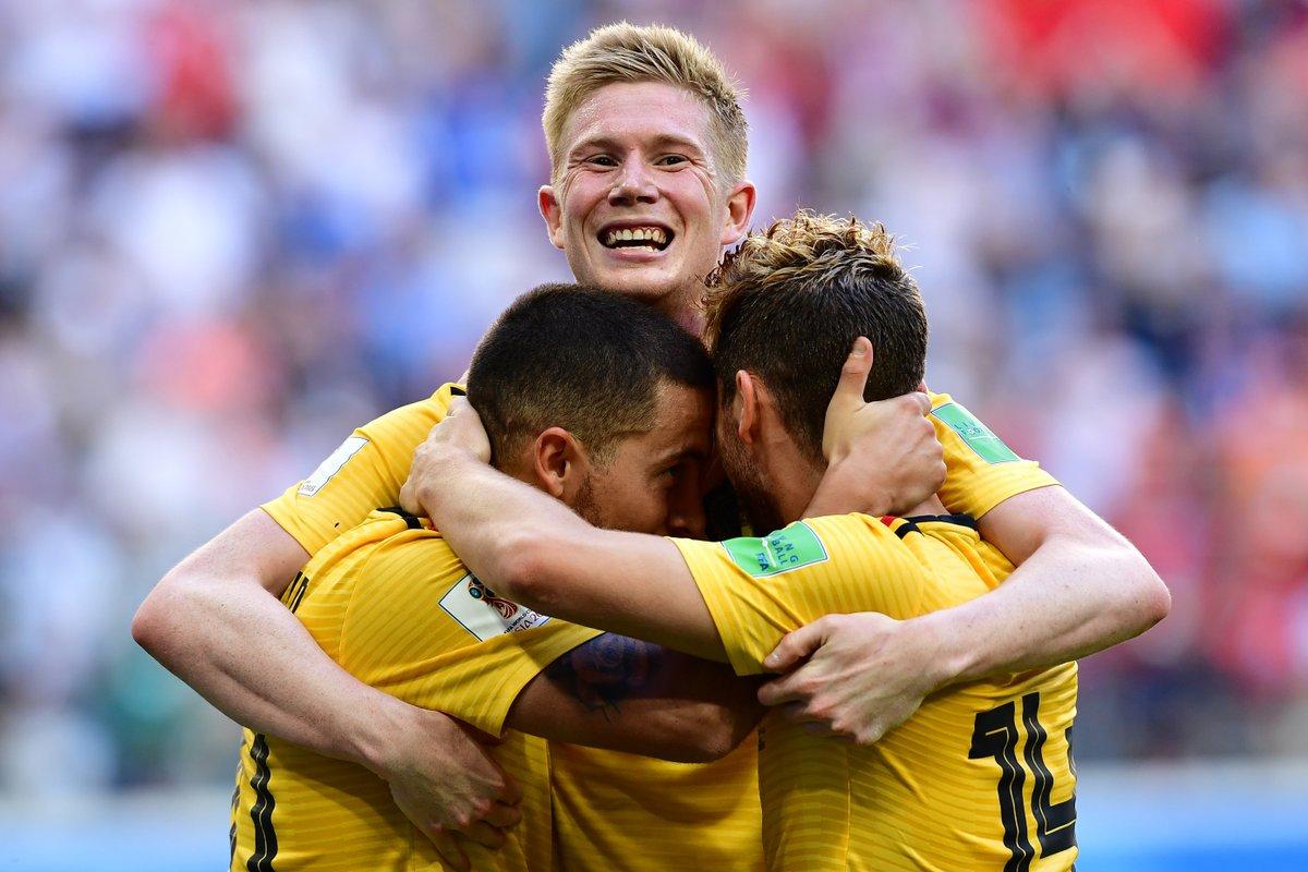 La Belgique bat l'Angleterre et s'empare de la troisième place !