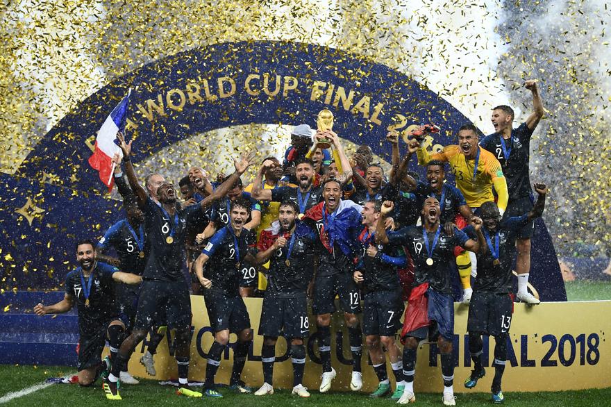 La France gagne sa deuxième étoile