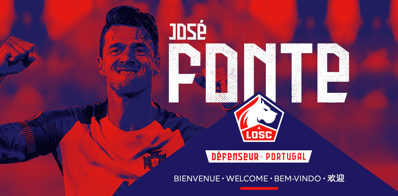 José Fonte signe à Lille